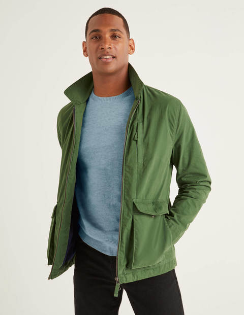 Hexham Zip Jacket - Broccoli