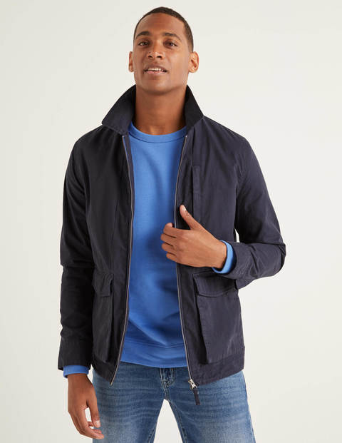 Hexham Zip Jacket - Navy