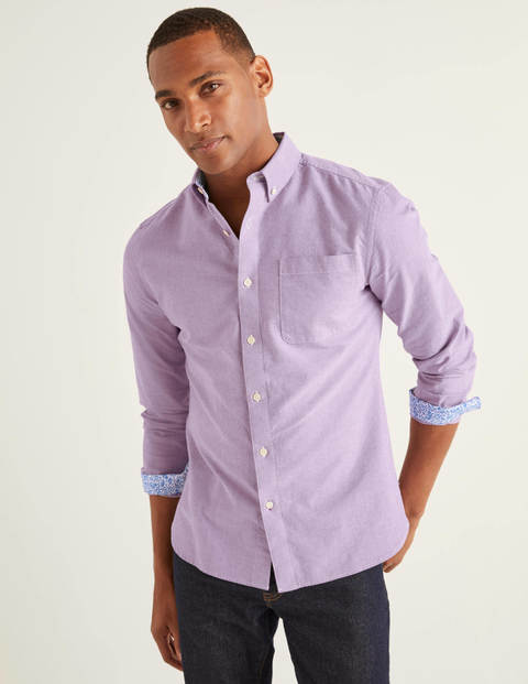Modern Oxford Shirt - Grape Jam