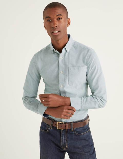 Schmal geschnittenes modernes Oxford-Hemd