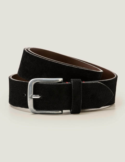 Suede British Belt - Black