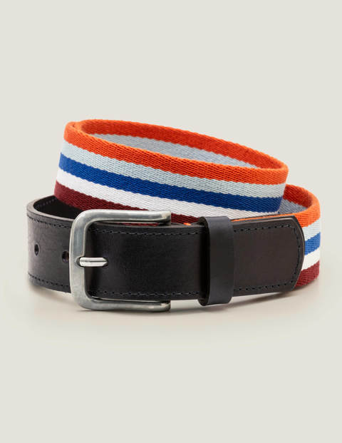 Stripe Webbing Belt - Multi
