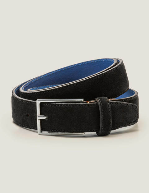 Smart Suede Belt - Black