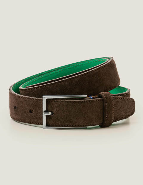 Smart Suede Belt - Brown