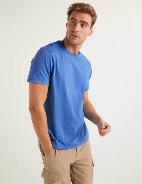 Washed T-Shirt - Malibu Blue
