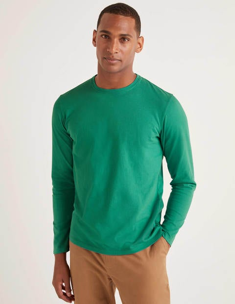 Long Sleeve Washed T-Shirt