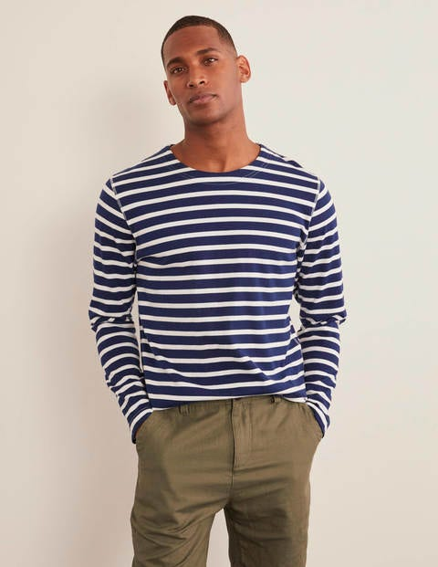 Chichester Mariner - Navy/Ecru Stripe
