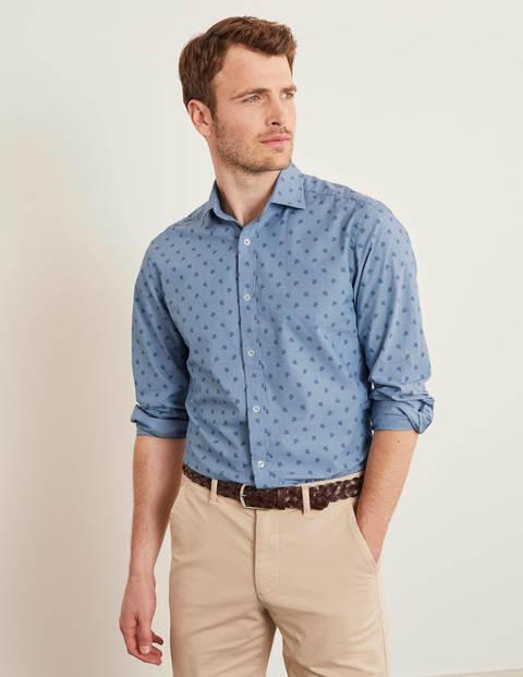 Slim Fit Pattern Shirt - Turtle Geo