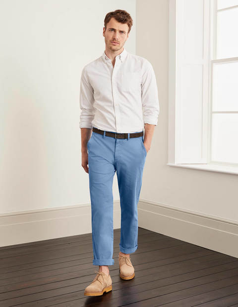 Lightweight Chinos - Storm Blue