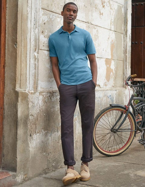 Lightweight Chinos - London Grey