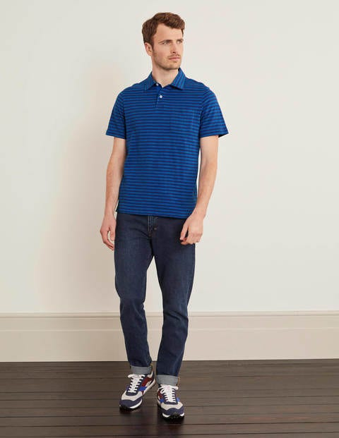 Slub Stripe Polo