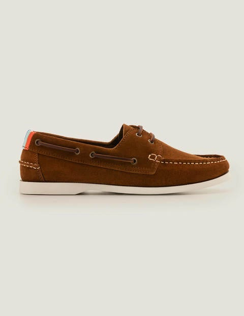 Boat Shoes - Tobacco Suede