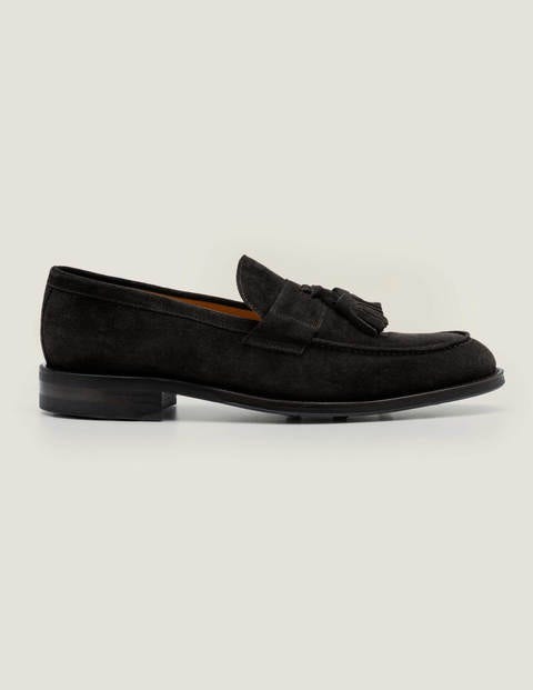Corby Loafer - Black Suede
