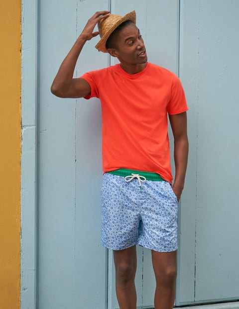 Washed T-Shirt - Tropical Coral