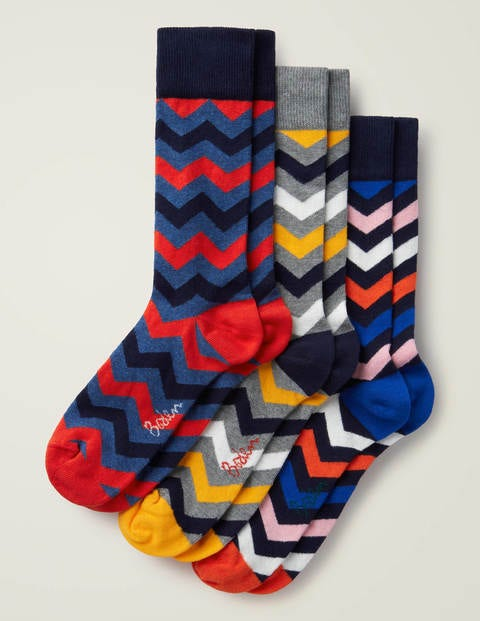 Favourite Socks - Multi Chevron Pack