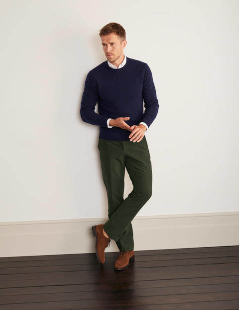 Lothbury Moleskin Pants - Olive Green