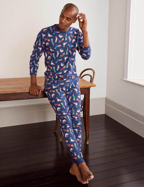 Jersey Pajama Set - Starboard Jolly Dogs