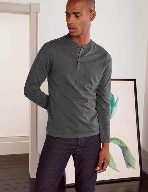 Langärmliges Henley-Shirt