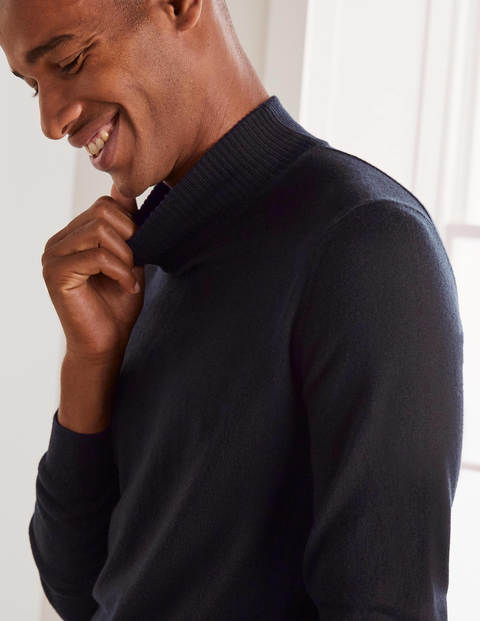 Merino Mock Neck