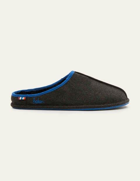 Felt Slippers - Charcoal