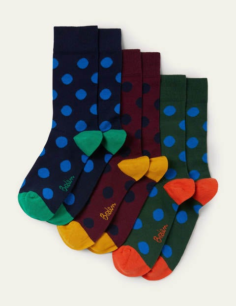 Favourite Socks - Multi Spot Pack