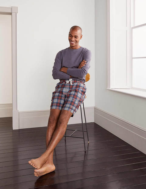 Brushed Cotton Pajama Shorts