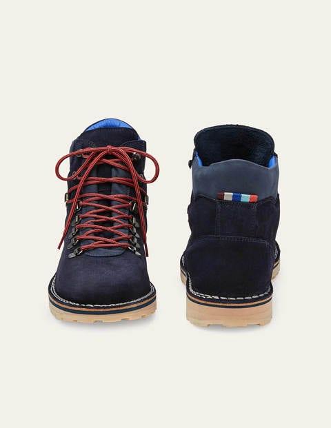 Suede Hiker Boots