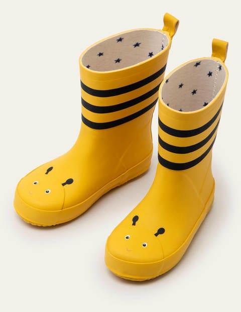 Wellies - Honeycomb Yellow