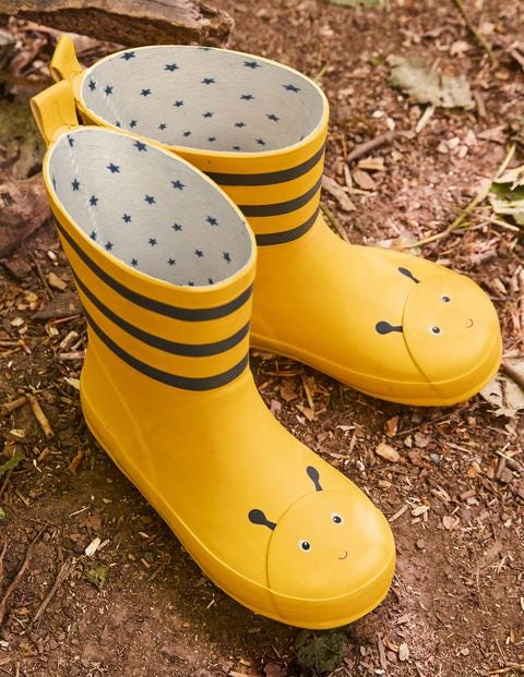Wellies - Honeycomb Yellow