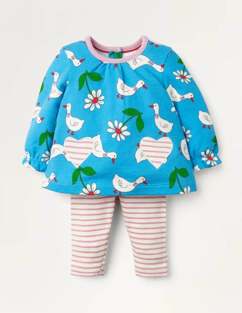 Supersoft Jersey Play Set - Baby Blue Daisy Duck