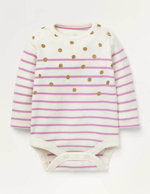 Colourful Breton Body - Gold Spot/Rosebay Pink