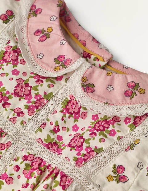 Baby Boden Hotchpotch Dress /& Pants set 0-4 years Floral or Bunny pretty collar
