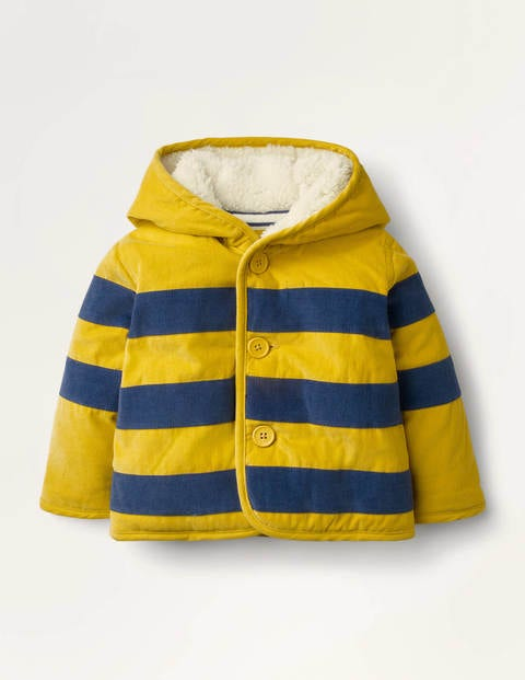 Cord Jacket - Honeycomb Yellow Bumble Bee
