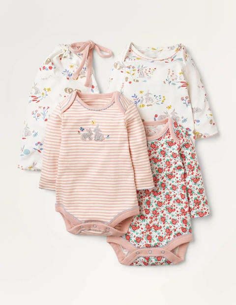 Essential Bodies 3 Pack - Multi Meadow Friends