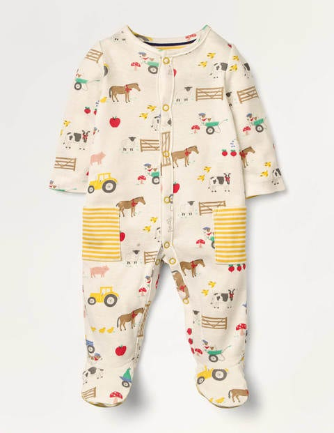 Printed Supersoft Sleepsuit