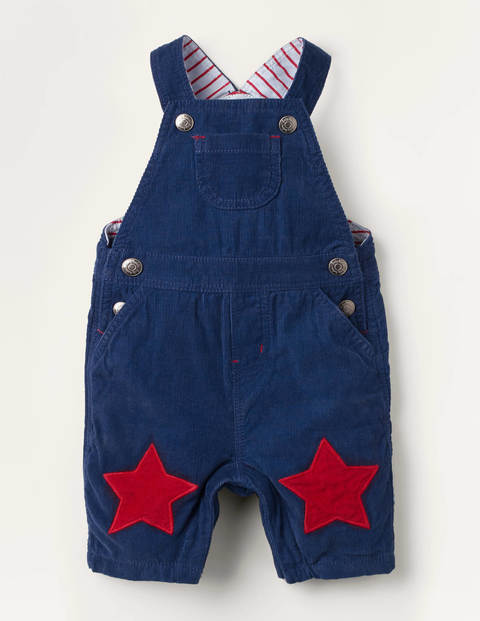 Jersey-lined Cord Dungarees