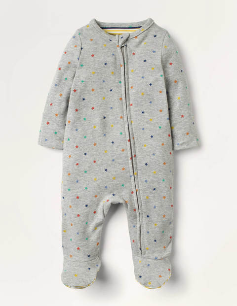 Supersoft Star Zip Sleepsuit