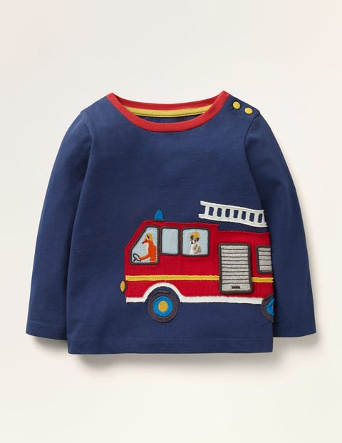 Transport Appliqué T-shirt