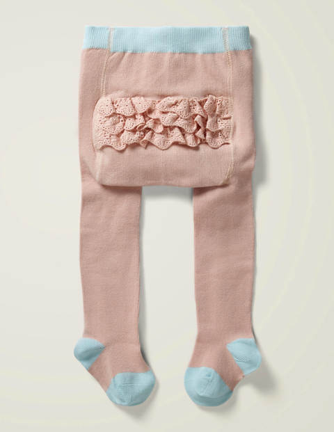 Ruffle Tights - Boto Pink