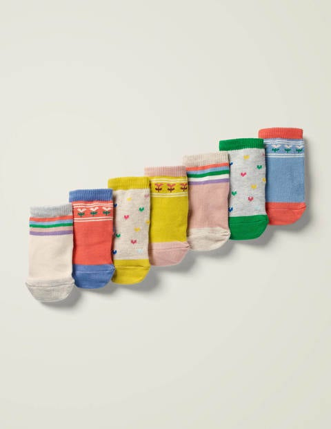 7 Pack Sock Box - Multi