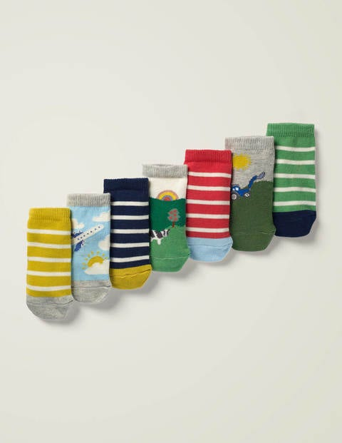 7 Pack Sock Box - Woodland Friends