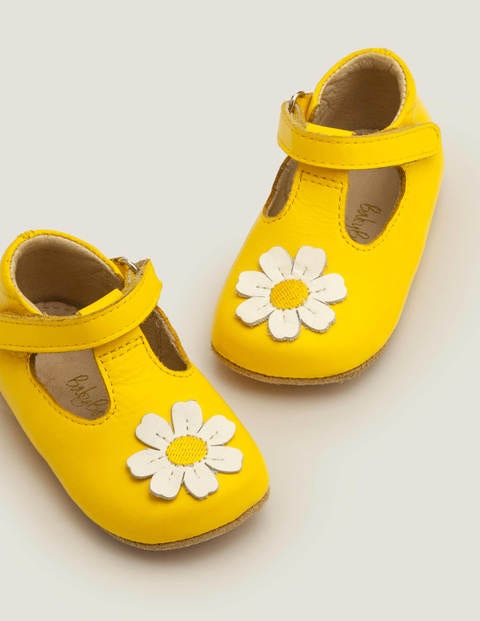 Supersoft Leather Shoes - Daffodil Yellow