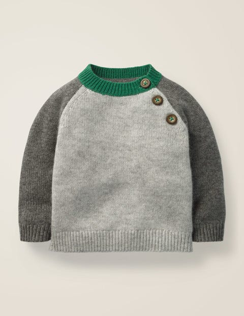 Cashmere Jumper - Grey Marl
