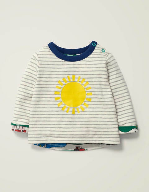 Reversible T-Shirt - Multi Farm Sunshine