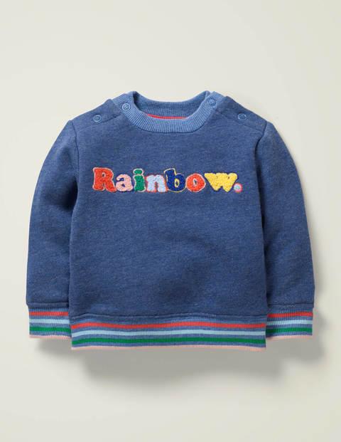 Bequemes Sweatshirt - Himmelblau