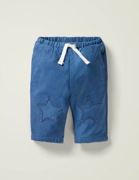 Patch Knees Pants
