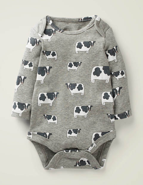 Animal Body - Grey Marl Cows