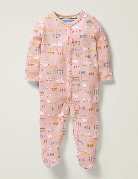 Printed Sleepsuit - Provence Dusty Pink Floral
