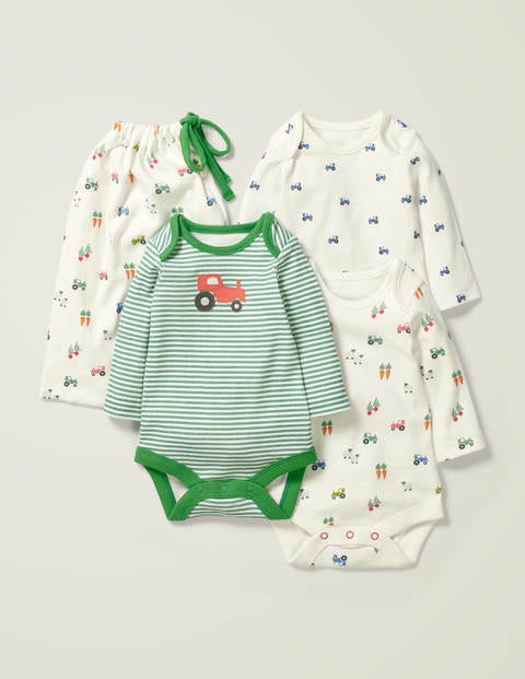3 Pack Bodies - Multi Baby Farm