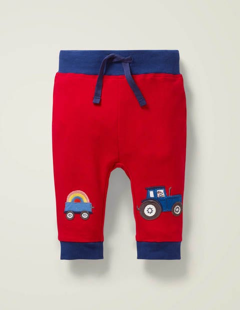 Appliqué Patch Jersey Bottoms - Beam Red Vehicles